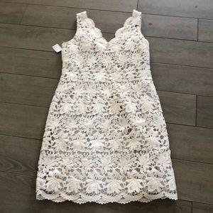 Ann Taylor lace summer dress